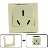 Type I Electrical Receptacle Outlet for Australia & New Zealand, With Panel Plate