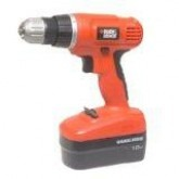 Black & Decker EPC-188BK 18V 2-Gear Hammer Drill FOR 220 VOLTS