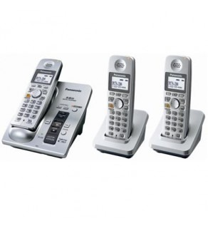PANASONIC KX-TG6053S 5.8 GHZ EXPANDABLE SYSTEM WITH DIGITAL ANSWERING SYSTEM