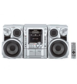 Panasonic SCVK62D MUSIC Sytem 110 220 Volts