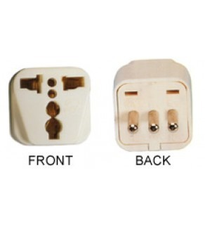 WonPro WA-12 Universal to Italy Grounded Power Plug Adapter