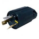Regvolt 20 Amp, 125 Volt, NEMA L5-20P, 2P, 3W, Locking Plug, Industrial Grade, Grounding, 3212N-L5