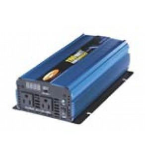 Pw1100-12 Ac Power Inverter 12 Volt Dc To 110 Volt For 1100 Watts Continuous And 2200 Watts Peak