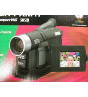 "JVC 2.5"" LCD, 600 X Digital Zoom GR-FXM17"