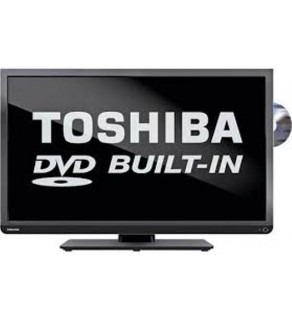 Toshiba 32 inch 32D1333DEV LED Multisystem TV with Built in DVD Region Free Player 110-220 volts