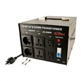 Simran AC-5000 Step Up and Down 5000 Watts Voltage Converter Transformer 110-220Volts