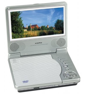 "Audiovox D1812 8"" Lcd Multi Region Portable Dvd Player"