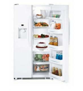 Ge 22 Cu.Ft Gse22Ketfww Side By Side Refrigerator For 220