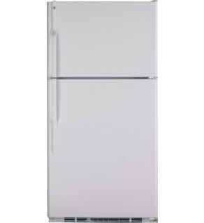 Ge 22 Cu. Ft. Gte22Jbtww Top Mount Refrigerator 220 Volts