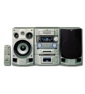 JVC Triple CD-MD Mini System 110-220 Volts