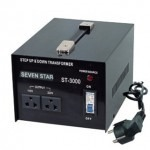 Seven Star ST-1500, 1500 Watts Step Up and Down Voltage Converter Transformer