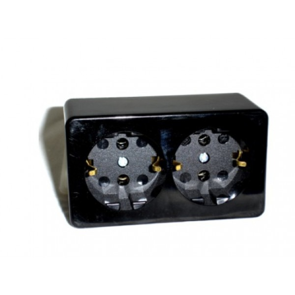 Type C, E & F Electrical Receptacle Outlet German Schucko Socket 16 ...