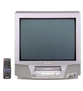 "SHARP 21"" Multi System Stereo TV - VCR Combo"