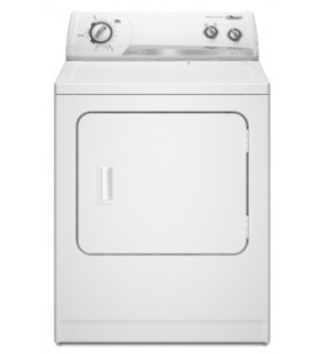 Whirlpool WED5205S 29 Super Capacity White Color Dryer 220-240 Volts