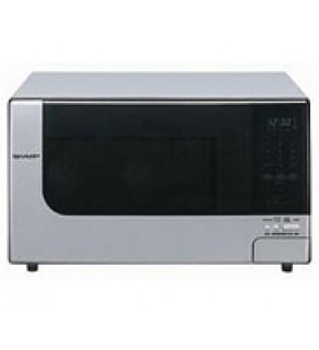 Sharp R398H1100W STAINLESS STEEL Microwave Oven 220 Volts