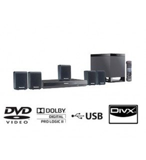 Panasonic SC-XH10 Code Free Home Theater System 110 220 Volts (Default)