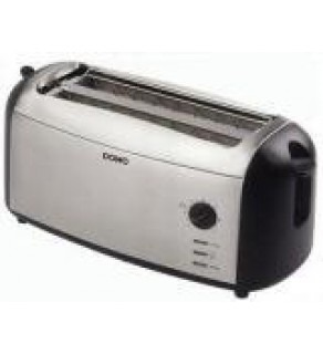 DOMO Stainless steel 4 Slice DO-970T Toaster FOR 220 VOLTS