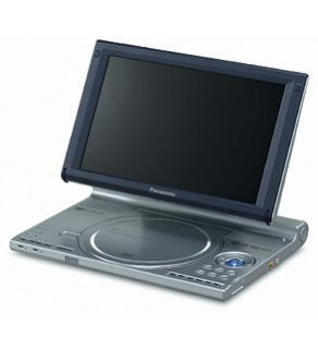 Panasonic Code Free DVD Player Plays any DVD from anywhere in the World!