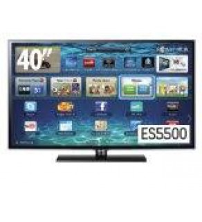 Samsung 40 inch UA-40ES5500 Smart LED Multisystem TV 110 220 Volts