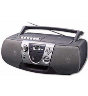 Sony CFDV8S Portable CD, Radio, & Cassette Stereo 110 220 Volts