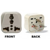 WonPro WA-21 Universal to North American NEMA 6-20P Grounded Power Plug Adapter
