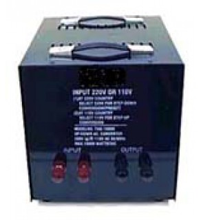 15,000 Watts Step Up and Down Voltage Converter Transformer, THG-15000 220 to 110 Volts, (CE Approved)