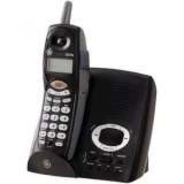 GE 27995GE2 24 GHz Cordless Phone With Digital Answering System