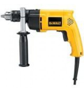 Dewalt D-21710K 600 Watts Single Speed Percussion Drill For 220 Volts