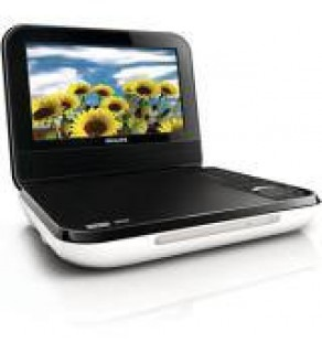 Philips PD-700 7 Inch Code Free Portable DVD Player FOR 110-220 VOLTS