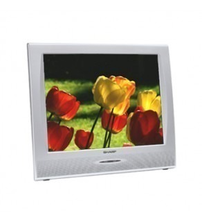 "SHARP AQUOS 20"" MULTI-SYSTEM LCD TV FOR 110-240 VOLTS"