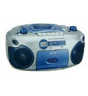 Sanyo Mcd-Mx780 Cd Mp3 Cassette Portable Stereo For 110-220 Volts