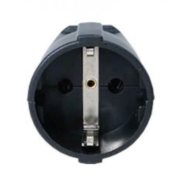 Type C, E, & F Electrical AC female conector socket Schuko ...