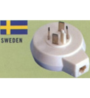 Sweden -Telephone Conversion Jack