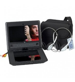 "Audiovox 9"" Widescreen Portable DVD Player with Swivel Display"