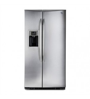 GE 27 Cu.ft GSE27NGBCSS Side by Side - Standard Depth Refrigerator 220 Volts