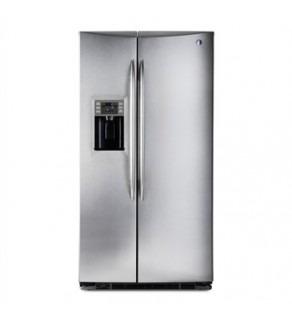 GE 27 Cu.ft GSE27NGBCSS Side by Side - Standard Depth Refrigerator 220 Volts