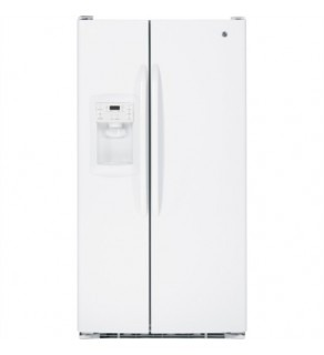 Ge 29 Cu.Ft Gse29Kgyc-Ww White Sid By Side Refrigerator 220 Volts