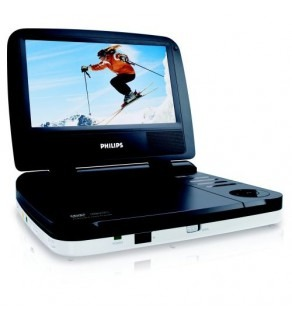 "Philips PET702 7"" LCD All Region Free Portable DVD Player"