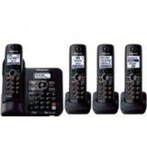 Panasonic KXTG6644B DECT 6.0 Cordless Phone, Answering System