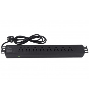 Regvolt Aluminum Alloy Shell Rack-Mount Server PDU Power Distribution Unit (INDIA - 8 Outlet/16 Amp)