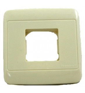 Square WF-6N Single Outlet Cover Plate