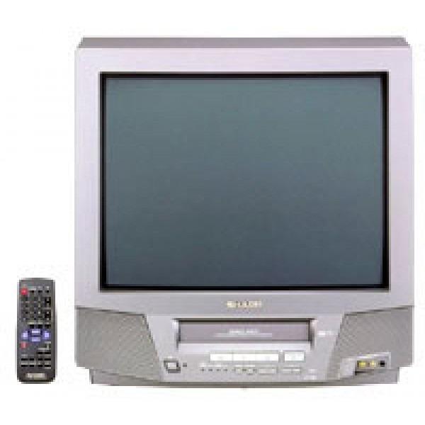 "SHARP 21"" Multi System Stereo TV - VCR Combo, 110220Volts.com"
