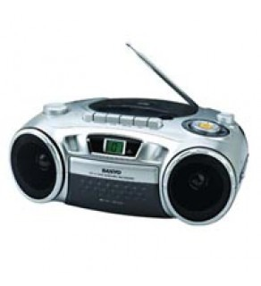 Sanyo Portable CD Radio Cassette Recorder