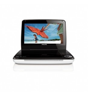 PHILIPS PET941 9'' Region Free PORTABLE DVD PLAYER FOR 110-240 VOLTS