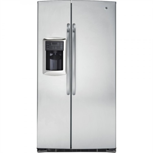 Ge 25 Cu Ft Gse25mgycss Sid By Side Refrigerator