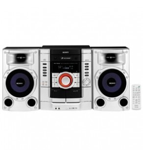 SONY MHC-RG190 3-CD DOUBLE CASSETTE MINI STEREO SHELF SYSTEM FOR 110-220 VOLTS