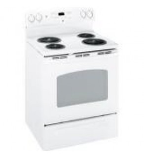 "GE JBP23DIRWW 30"" Freestanding Electric Range In White FOR 220 VOLTS"