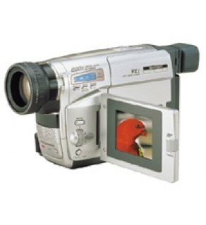 Panasonic Super-VHS-C-S-VHS-ET Camcorder NV-VS70