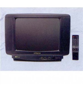 "Hitachi 14"" Twin Speaker Multi System TV"