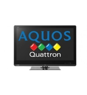 "SHARP AQUOS 46"" LC46LE820M QUATRON LED MULTISYSTEM TV FOR 110-220 VOLTS"